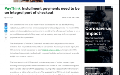 PayThink Installment payments need to be an integral part of checkout | Payments Source